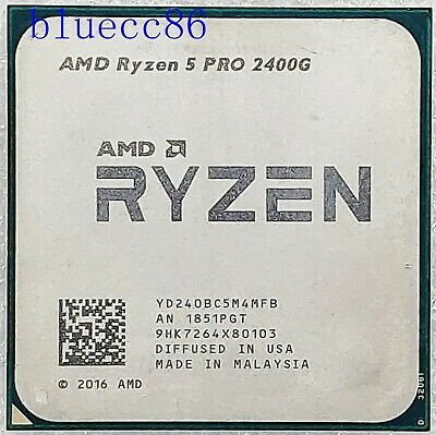 AMD Ryzen 5  2400G PRO Desktop Socket AM4 Integrated graphics CPU Processors