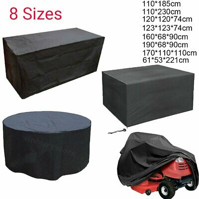 Large Round/Square Waterproof Outdoor Garden Patio Table Chair Furniture Cover