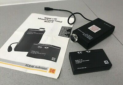 Kodak S-AV Infrared Remote Control Model TF with instructions FTZ nr AGB- 225