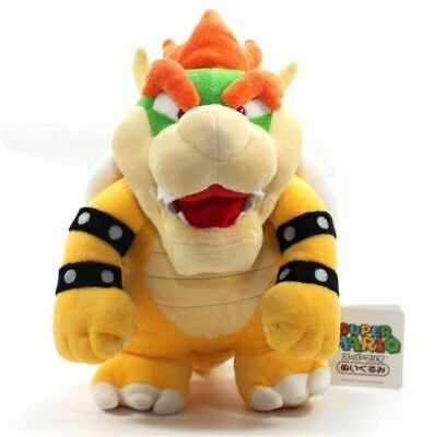 2019 Nintendo Super Mario Brothers Bros Party Bowser 19Cm Stuffed Toy Plush Doll