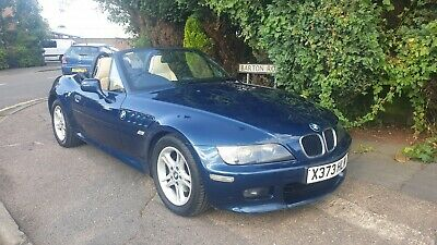 Bmw Z3 2.0 Petrol ** 12 Months Mot ** S/H ** Only One Previous Owner **