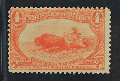 CKStamps: US Stamps Collection Scott#287 4c Mint NH OG CV$300