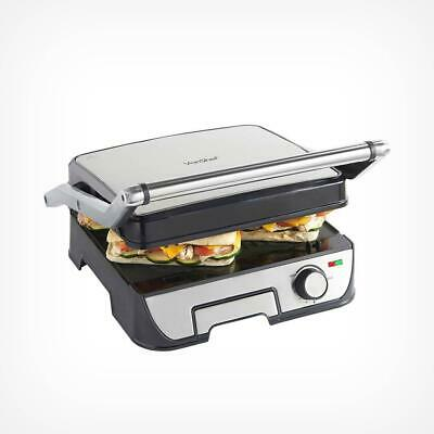 Large Sandwich Press Maker And Grill Non Stick Electric Toaster Bread Toastie