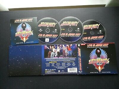 Journey - Live In Japan: Escape + Frontiers (2 CD + 1 DVD SET - UNPLAYED UNSELD)