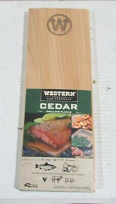 "50 PACK Chicken BBQ Grill Planks 5.25x7/"" Cedar Grilling Planks for Salmon"