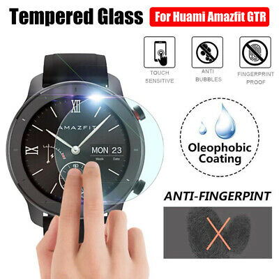 For Huami AMAZFIT GTR 42mm 47mm Screen Protector Protective Film Tempered Glass