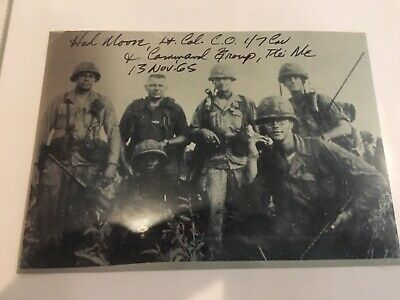 We Were Soldiers Hal Moore Signed 5x7 Photo - GREAT CONTENT