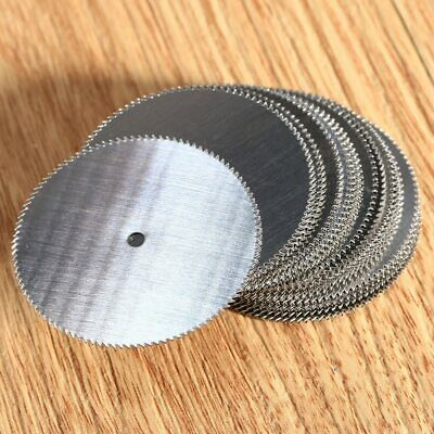 20Pcs Dremel 32mm Mini Circular Saw Blades HSS Wood Cutting Disc for Rotary Tool