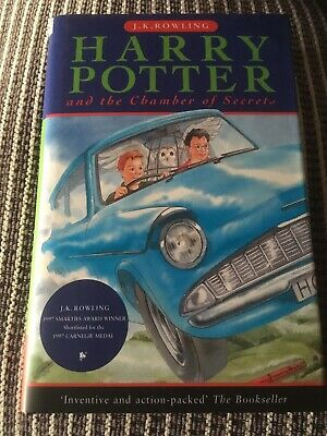 Harry Potter And The Chamber Of Secrets - First Edition