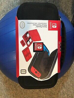 Nintendo Switch Carrying Case – Protective Deluxe Travel Case – Black Ballistic