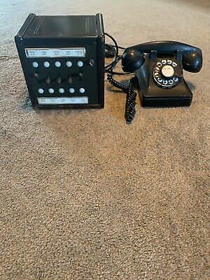 Art Deco Western Electric Model 302 Lucy Telephone Rare Operator Office Box