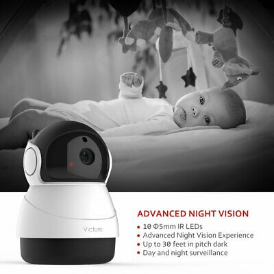 Victure 1080P Baby Monitor with WiFi Camera FHD Indoor Wireless
