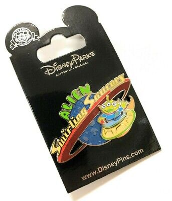 Disney World Toy Story Land Alien Swirling Saucers Ride Trading Pin NEW