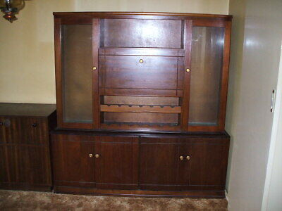 Antique Buffet and Hutch Solid Timber