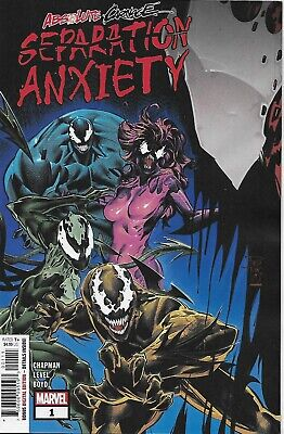 Absolute Carnage Comic Issue 1 Separation Anxiety Modern Age First Print 2019
