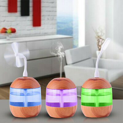 Aroma Aromatherapy Diffuser Essential Oil Ultrasonic Air Humidifier Purifier B