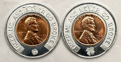 1968 D LINCOLN Memorial Penny, Cent, BU Coin, Fill Your Coin