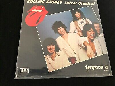 The Rolling Stones Latest Greatest LP EMI SX-T8 Very Good Condition