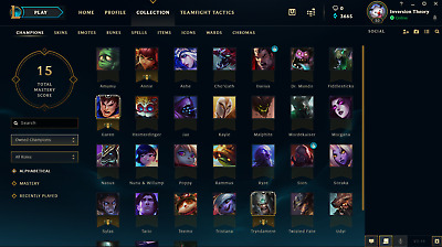 League of Legends level 30 NA account | 30+ Champions | Ready for ranked