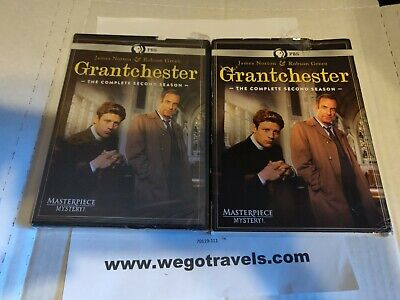 Grantchester: The Complete Second Season Masterpiece New DVD free shipping