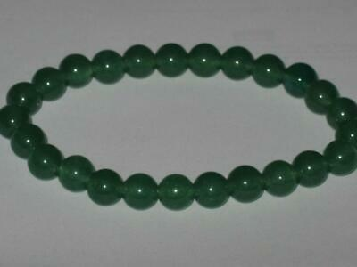 Green Jade Bracelet Witch Estate ATTRACTS MONEY LOVE HEALING ENERGY PROTECTION