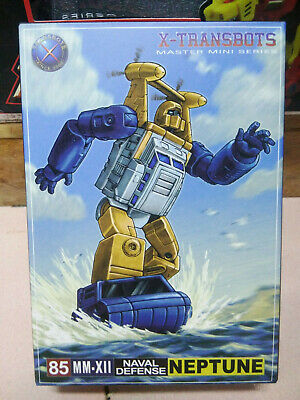 New Transformers X-Transbots MM-XIII Neptune in Stock