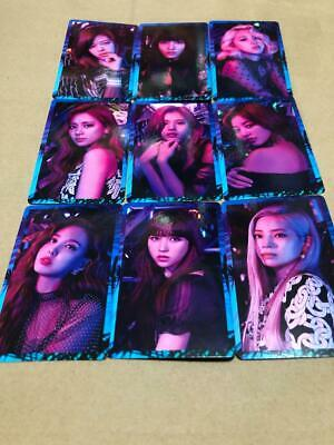 """Twice Japan 5th Single """" breakthrough """" - Official PhotoCard - Full Set of 9"""