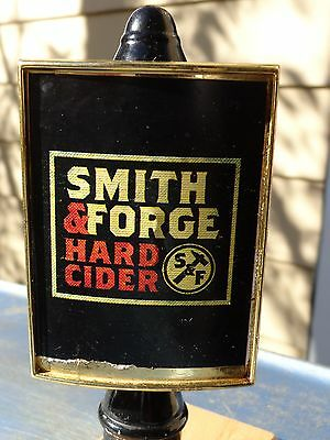 BEER Tap Handle ~ Coors SMITH & FORGE Hard Cider ~ Golden, COROLRADO Breweriana