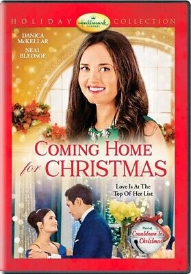 COMING HOME FOR CHRISTMAS New Sealed DVD Hallmark Channel Danica McKellar