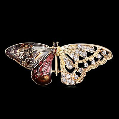 Fashion Butterfly Insects Brooch Pin Banquet Women Men Jewelry Party Gift New