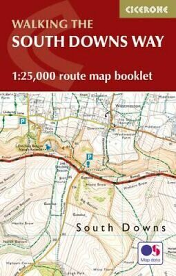 The South Downs Way Map Booklet 1:25,000 OS Route Mapping 9781852849399