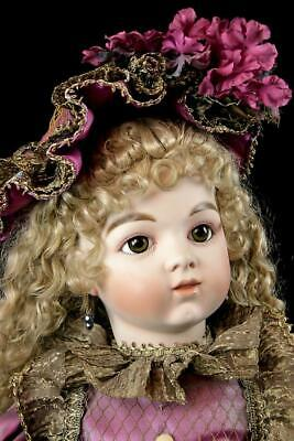 "Rare Mary Benner Bru Claudine French Antique 30"" Repro Doll 182/400 Htf 2003"