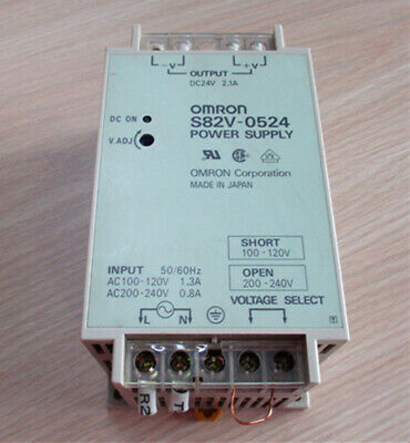 1PC USED OMRON Switching power module S82V-0524