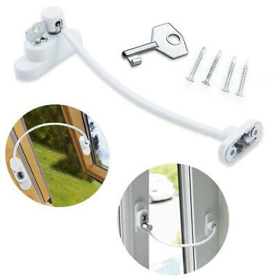 1/2/4 Pcs Window Door Restrictor Security Locking Cable Wire Child Baby Safety L