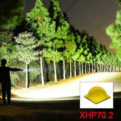 90000 lumens XLamp xhp70.2 most powerful led flashlight usb head torch led Recha