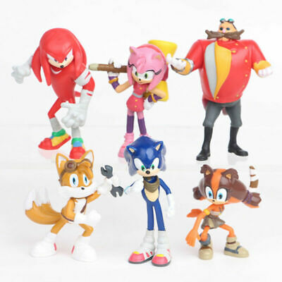 AU Stock 6PCS SONIC THE HEDGEHOG ACTION FIGURE DOLL KID TOYS CAKE TOPPER DECOR