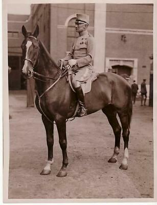 London Swedish Rider Conte Frederic de Bonde King's cup Horse Show Photo 1930'