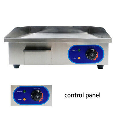 3000W Commercial Counter Top BBQ Electric Griddle Hotplate Grill With AU Plug