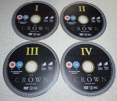 The Crown Season 1 dvd (discs only)