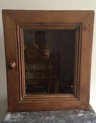 Vintage/Antique Wooden Key Storage Box - Lovely Condition