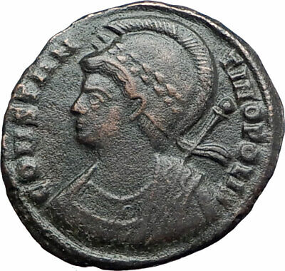 CONSTANTINE I the GREAT Founds Constantinople 334AD Ancient Roman Coin i80194
