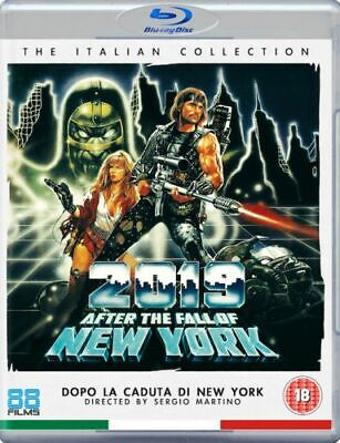 2019 After The Fall Of New York Blu-Ray [Uk] New Bluray