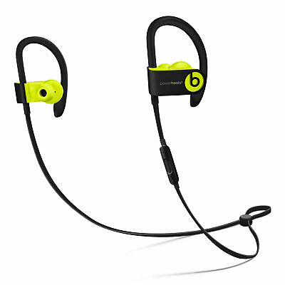 Apple Beats by Dr. Dre Powerbeats 3 Yellow Bluetooth Wireless In-Ear Headphones