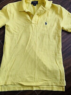 Ralph Lauren polo shirt Boys Age S (8) Lovely Condition