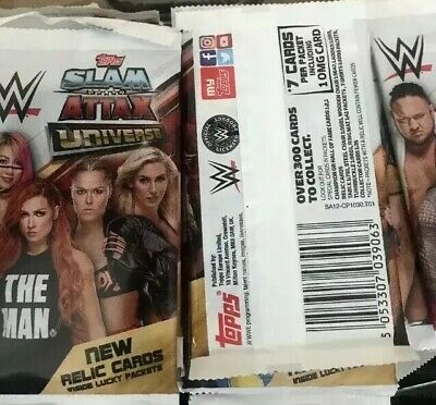 Topps Slam Attax Universe 75 Sealed Packets