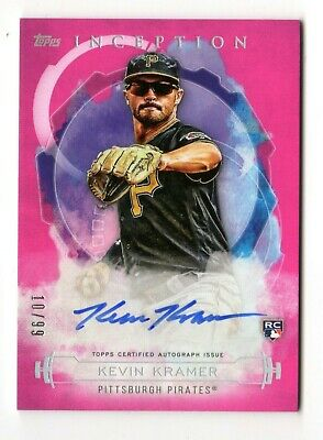 Kevin Kramer Mlb 2019 Topps Inception Rookies And Emerging Stars Auto (Pirates)