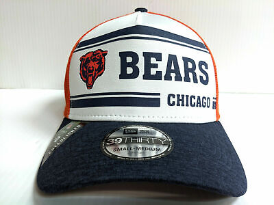 Chicago Bears Cap New Era 39Thirty Stretch 2019 Home Sideline 1970s Hat