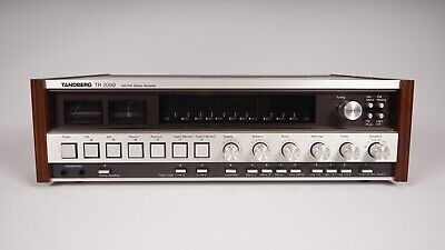Tandberg TR 2080 AM/FM Stereo Receiver - Phono Stage - Audiophile
