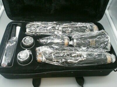 Eastar B Flat Clarinet Black Ebonite Clarinet With Case, Gloves, Stand and more