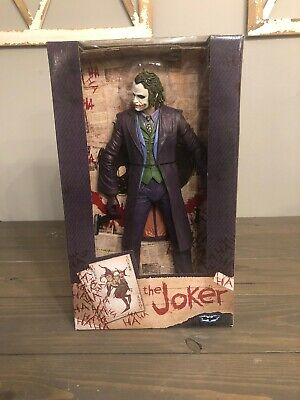 "Neca Dc Comics The Dark Knight The Joker 18"" Action Figure Batman 1966 Robin"